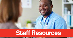 Smiling Nurse Links to Staff Resources