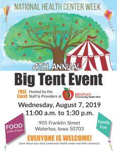 Big Tent Event Flyer