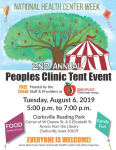 Peoples Clinic Tent Event Flyer_PCBC